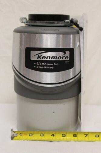 Kenmore 3/4 HP Garbage Disposal Food Waste Disposer 60571 F1
