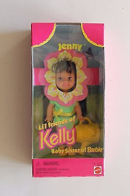 LI'L FRIENDS OF KELLY - SUNFLOWER JENNY  MIB  1997 MATTEL
