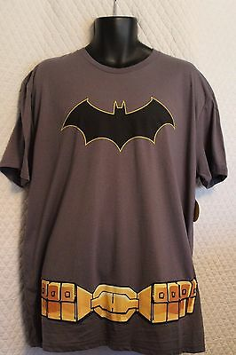 Halloween Batman Costume TShirt DC Comics Cape superhero tee shirt boys small