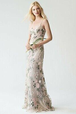 Jenny Yoo Floral Bridesmaid / Evening Dress - UK size 8