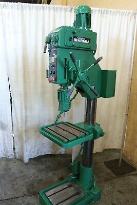 22 Clausing Ibarmia Geared Head Drill Press Yoder 68619