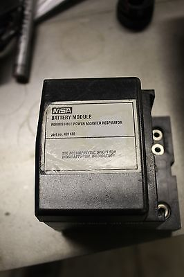 Msa Battery Module For Permissible Power Assisted Respirator 491120
