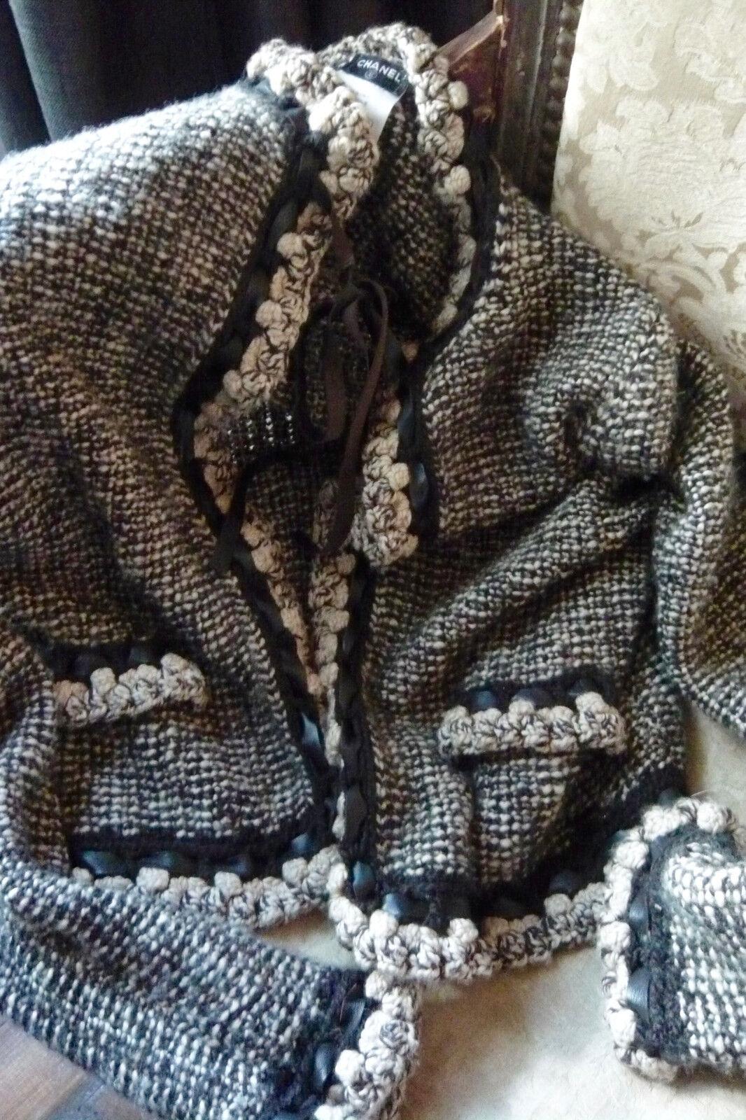 Chanel veste cardigan gilet jacket t 38