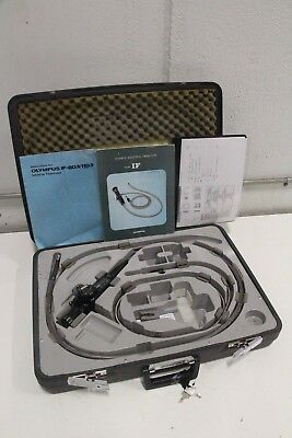 Olympus If-11d3 Industrial Fiberscope Bore Scope With Manual Travel Case