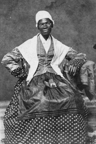 Sojourner Truth-African-American abolitionist-Photo of Grandson-Prisoner of War