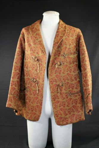 VTG Smoking Jacket Coat Hobbit
