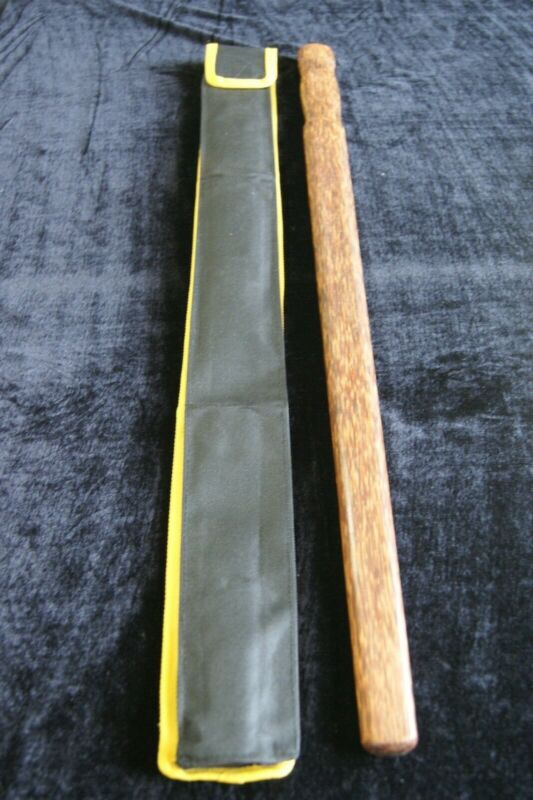"Bahi Hardwood Garrote 28"" Sword with Carrying Case"