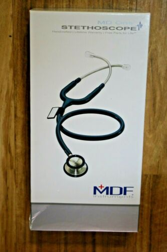 MD One MDF777 Adult Stainless Steel Dual Head Stethoscope Purple