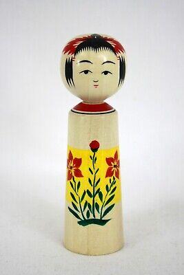 伝統小芥子 Dento Kokeshi Doll Japanese Traditional Naruko 097