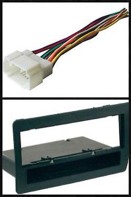 Stereo Install Dash Mount - Car Stereo Radio Install Dash Mount Face Trim Kit Combo for 2001-05 Honda Civic