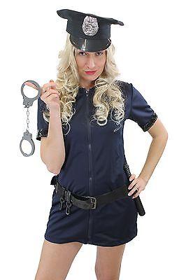 Komplettset: Kostüm Damenkostüm Sexy Politesse Polizistin Female Cop - Cop Kostüm Damen