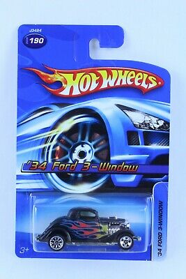 HOT WHEELS 3-WINDOW '34 W/ MATCHBOX REAR WHEEL ERROR VERY NICE