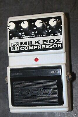 DOD FX84 MILK BOX Compressor Guitar Effect Pedal  #R3423