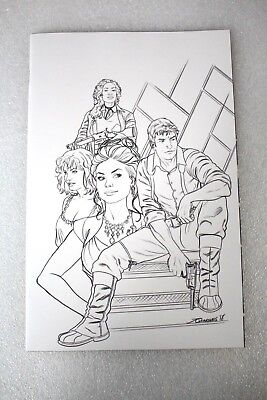 Firefly #1 1:25 Quinones Sketch Retailer Incentive Variant Edition Cover   - Firefly Retail