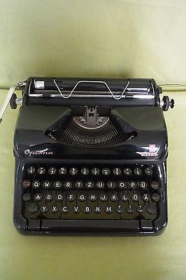 Schreibmaschine - Optima Elite - VEB Mechanik Optima Büromaschinen Erfurt