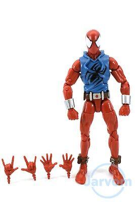 """Marvel Legends 6"""" Inch Rhino BAF Wave Scarlet Spider Spider-Man Loose Complete"""