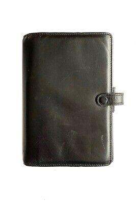 Filofax Of England Vintage Leather Planner Organizer