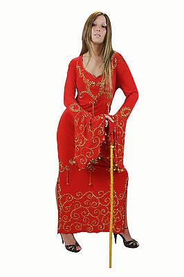 - Ägyptische Bauchtanz Kleid