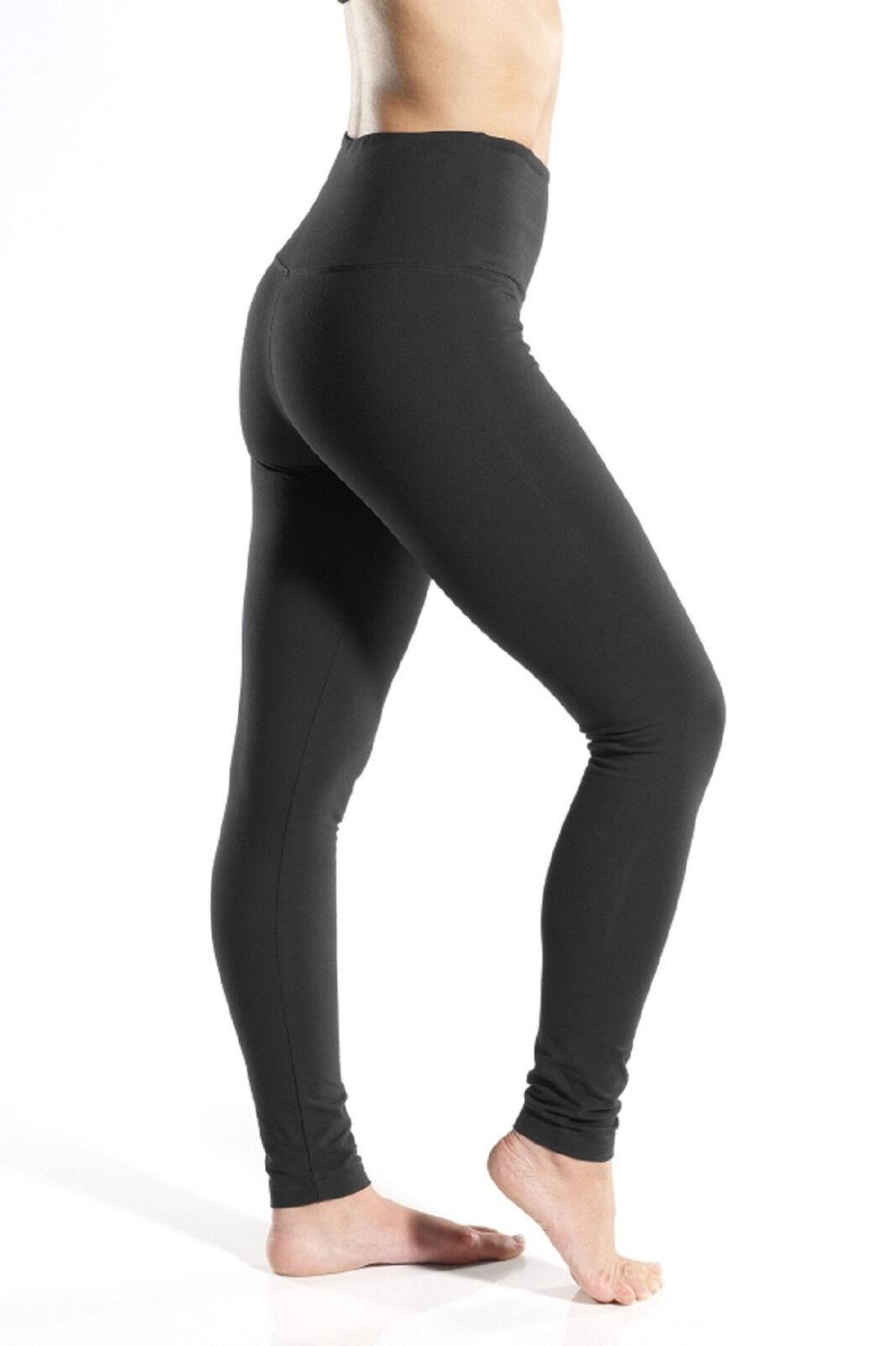 US S Lysse BLACK SHINE Leggings Full Length Shaping Legging