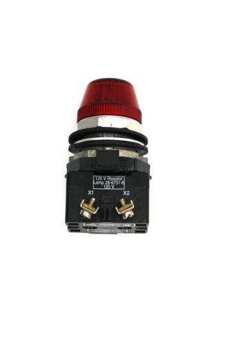 Cutler Hammer HT8 120V Indicator Light Red