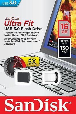 SanDisk 16GB Cruzer Ultra Fit 16G CZ43 USB 3.0 Nano Flash Pen Drive SDCZ43-016G