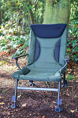 Fishing Chair - Recliner MK11 Arm Chair, Padded, Fishing, Camping *FREE P&P*