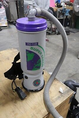 Used, ProTeam Super Coach   Backpack Vacuum   for sale  Milton Freewater
