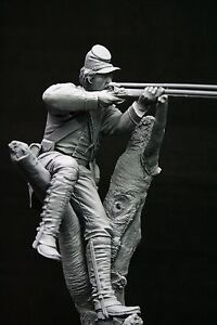 120mm 1/16 Union Berdan Marksman, American Civil War, sculpted by Maurice Corry