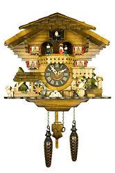 Engstler Quartz Cuckoo Clock - The Tipsy Beer Drinker AH 490 QMT NEW