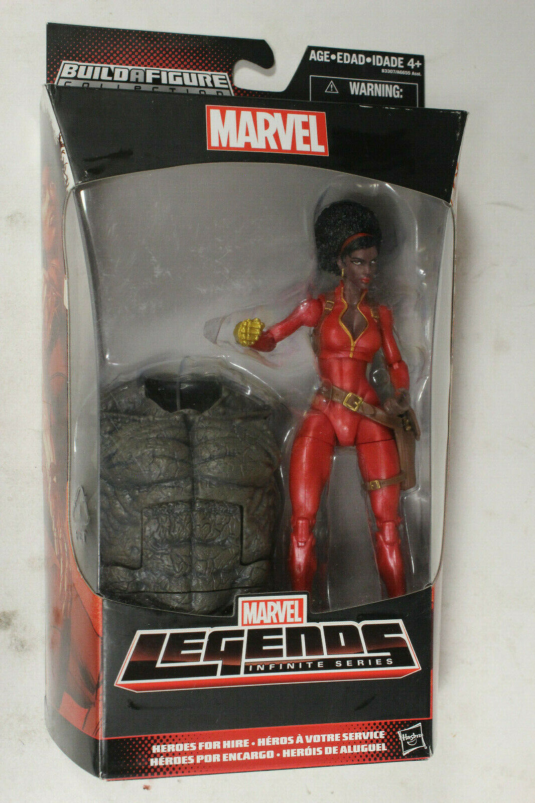 MISTY KNIGHT Heroes For Hire Amazing Spider-Man Marvel Legends Figures BAF RHINO