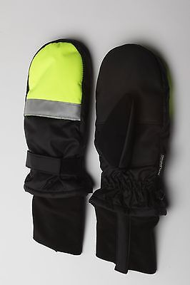 HXT Running  Heated Gloves / Mittens.  Microwave No expensive battery needed.