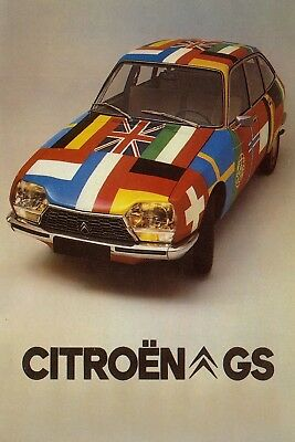 Citroen GS Car Jumbo Fridge Magnet