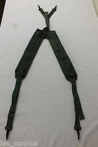 INDIVIDUAL-EQUIPMENT-BELT-SUSPENDERS-LC-2-GENUINE-US-MILITARY-ISSUE-VG-EXC