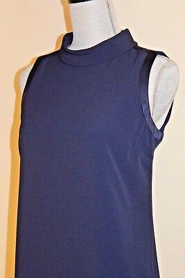 New Massimo Dutti Zara Group Blue Mock Layer Dress  4, 6  Second item ships free