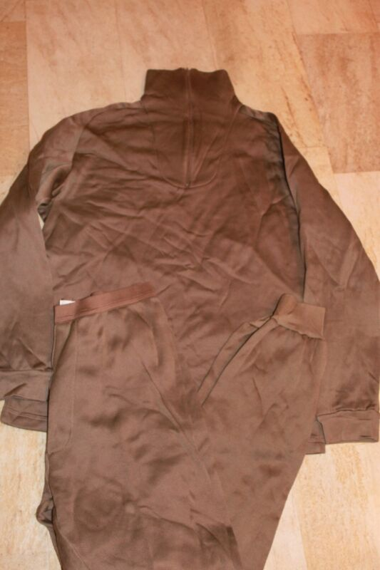 Military Surplus, Army,  Poly Pro Top & Bottom Med, Exc