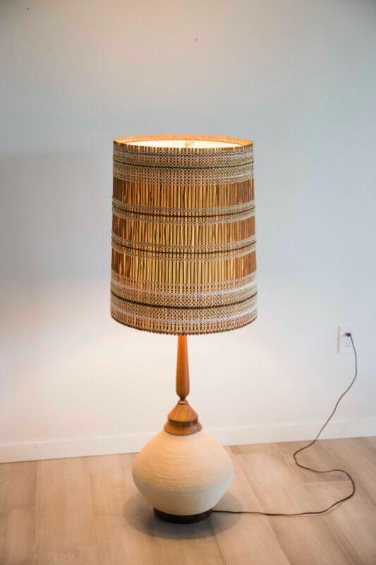 Maria Kipp Lampshade and Lamp