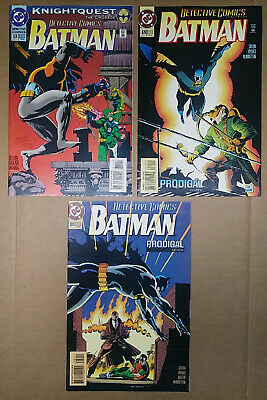 Detective Comics #674,679 and #680-Batman-Joker-Robin-1st Bat-Girl-DC](Batman And Robin Girls)