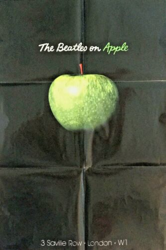 """• The Beatles on Apple 24"""" x 36"""" Poster From Limited Ed. Abbey Road Box Set"""