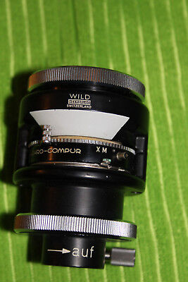 Wild Microscope Photography Camera Eyepiece Attachment Build With Shutter