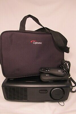 Optoma HD Projector Bundle | Model PRO160S DLP | used for less than 5 hours