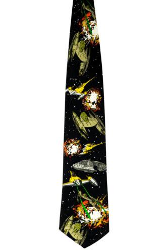 Star Wars Neck Tie - Retro Vintage Starfighters Necktie New w Tags
