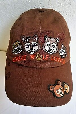 Great Wolf Lodge Baseball Cap Hat Embroidered Childs Kids