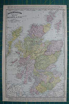 Harta glob o mulime mixte in romn este simplu s cumprai scotland vintage original 1895 rand mcnally world atlas map lot gumiabroncs Image collections