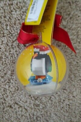 BRAND NEW LEGO 853796 Penguin Christmas ornament 37 pieces Ages 6+