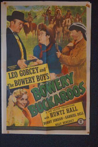 BOWERY BUCKAROOS - LEO GORCEY