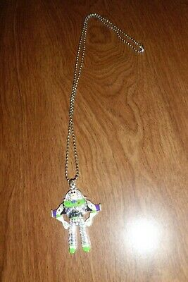 BUZZ LIGHTYEAR FROM TOY STORY PENDANT NECKLACE WITH RHINESTONES ON A 10 INCH CHA](Buzz Lightyear Female)