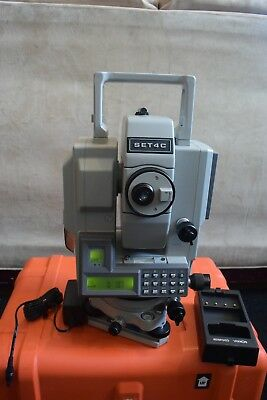Sokkia Total Station Model Powerset Set4cii Set 4c Ii