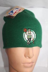 Boston Celtics NBA Adidas Knit Beanie Cable Green Skull Cap Winter Hat    NEW