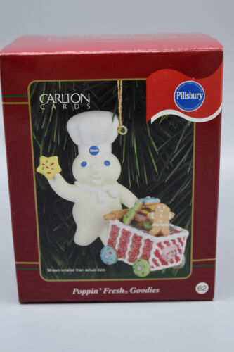 "American Greetings Heirloom Ornament  ""Pillsbury Dough Boy""  New Old Stock #62"