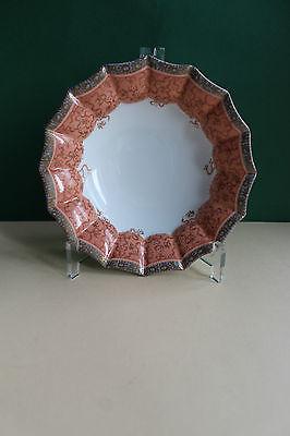 Royal Copenhagen  Schale, vieleckig in seltenem Dekor, 1. Wahl, Dm 17 cm,